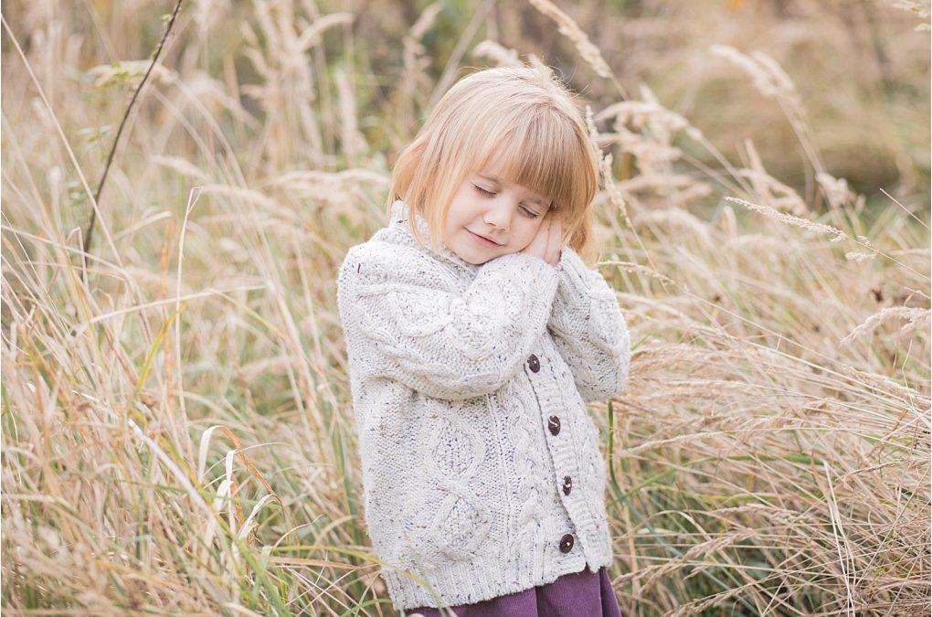 jesienna sesja dziecięca
