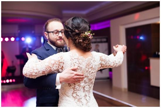 zakochani wpierwszym tancu