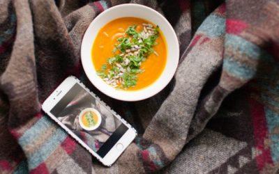 Wegańska zupa zdyni! | OSOBISTE
