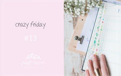 CRAZY FRIDAY #13