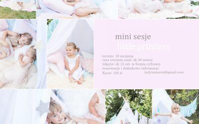 mini sesje dziecięce: little princess
