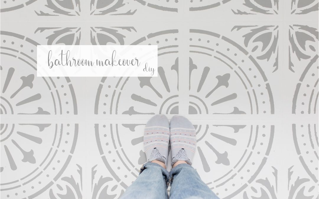 DIY bathroom makeover czyli