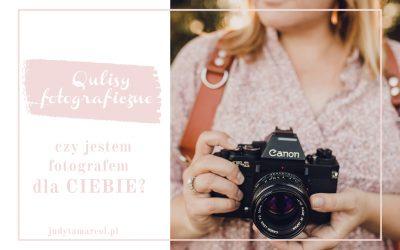 czyjestem fotografem dla Ciebie?