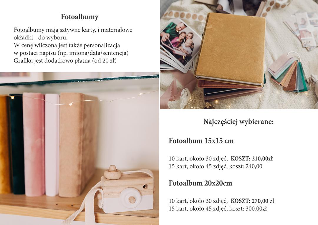 ceny fotoksiazek, zdjecia albumow iaparatu drewnianego