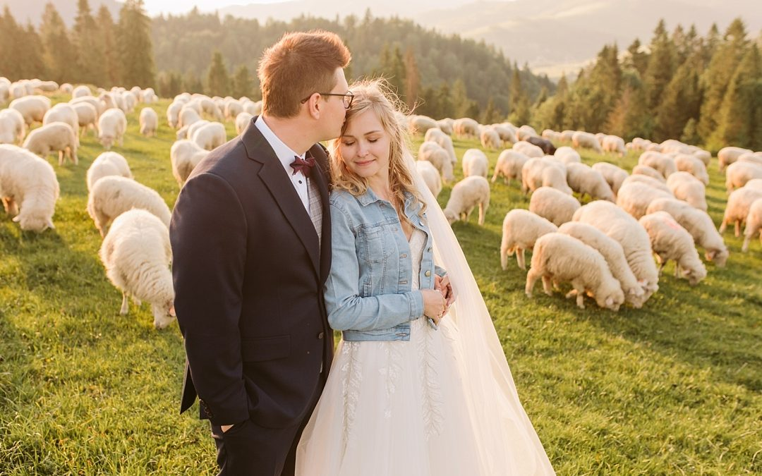 plener ślubny wgórach